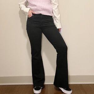 Vintage l.e.i. Black Flare Jeans Y2K Denim 00's 7